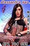 Travestis Alessandra Kardashian
