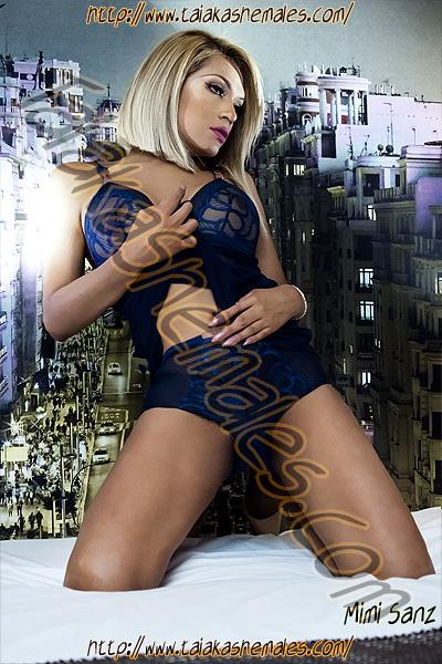 Travesti Mimi Sanz